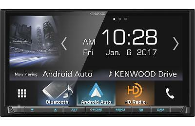 Kenwood DMX7704S Double 2 DIN Media Player Android iPhone HD Radio Bluetooth