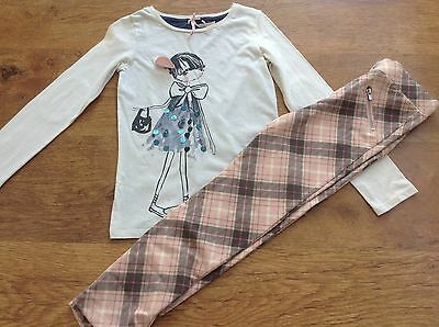 H+M Next Girls Summer Bundle/outfit 6-7Yrs Top Trousers * I,ll Combine *