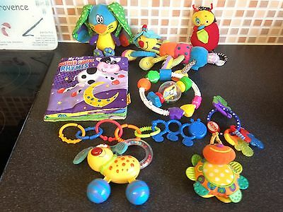 Babys Bundle, Teethers, Rattles Book Etc