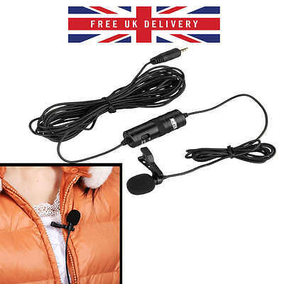BOYA BY-M1 Omnidirectional Lavalier Condenser Microphone With Lapel Clip For new