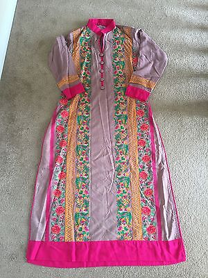 Bollywood Salwaar Kameez Fully Embroidered Party Wear Indian Traditional Suit