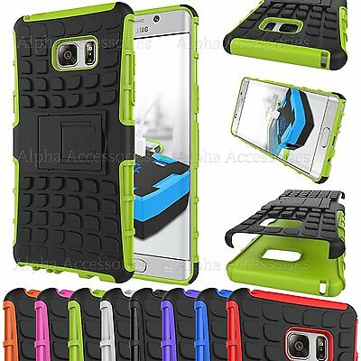 Shock Proof Dual Layer Defender Builder Rugged Stand Case For iPhone Galaxy Sony