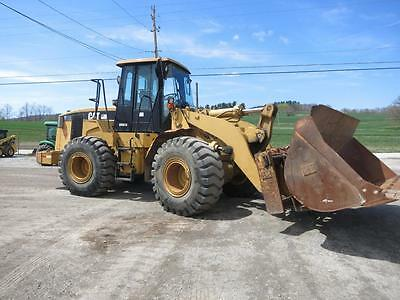 2004 Caterpillar 950G Wheel Loader, Cab, Heat/AC, 4x4, Powershift, 197 HP Diesel