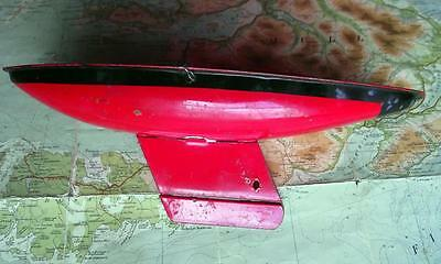 "c1930 Vintage Tri-ang 10.5"" Metal Tinplate Hull Boat Sailing Ship Pond Yacht B"