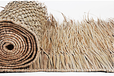 """8' Tiki Hut Bar Mexican Palm Roof Thatch Runner Roll 30""""x8' Commercial Grade"""