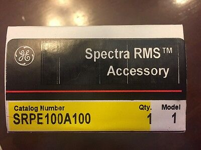 Ge Spectra Rms Rating Plug - Srpe100A100 - New In Box