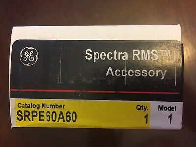 Ge Spectra Rms Rating Plug - Srpe60A60 - New In Box