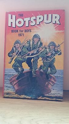 The Hotspur Book for Boys 1971. Hardback.