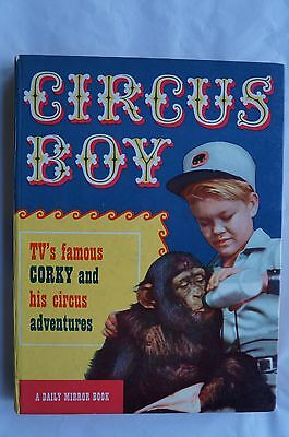 Vintage Circus Boy Annual - 1958 - Very Good Condition - 59 Years Old