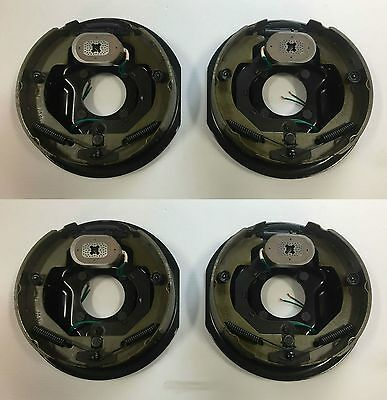"10"" x 2-1/4"" Electric Trailer Brake Assembly - (2) Right Hand and (2) Left Hand"