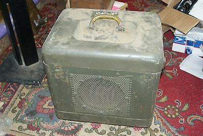 Vintage U.S. Army Signal Corps Speaker to go with Projector Set LS/170A/PFP 1