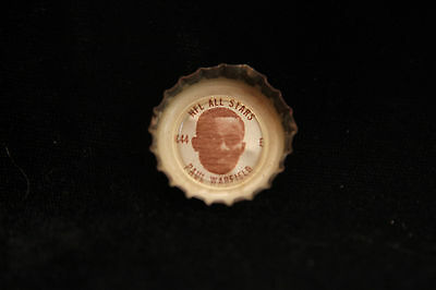 1966 King Coke Bottle Cap All-Stars NFL #C44 Paul Warfield Clevland Browns  Cola