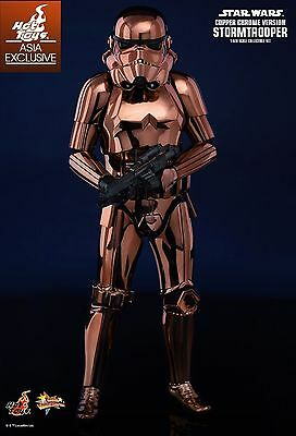 NEW Hot Toys 1/6 Star Wars STORM TROOPER 500 bodies Limited Copper Chrome ver.