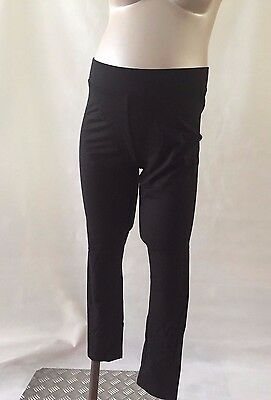 [535] TopShop Maternity Black Full Length Leggings Size 16 Brand New With Tags