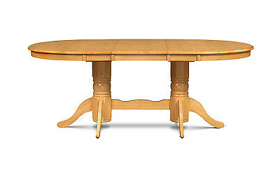 "M&d Furniture 42"" X 78"" Oval Dinette Dining Room Kitchen Table W/. 18"" Leaf"
