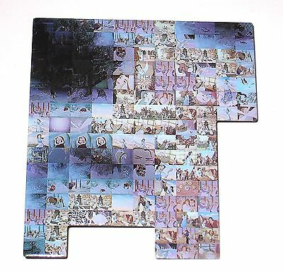 RARE Jumbo LE Disney Pin✿Beauty Beast Cast Photo Mosaic Belle Movie Film Frames