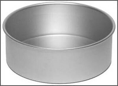 Alan Silverwood Round Cake Pan Anodised Solid Base 5/6/7/8/9/10 inch