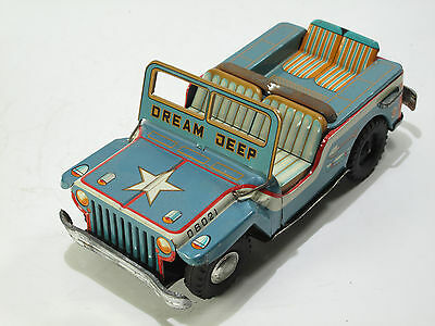 HUDSON JAPAN, DREAM JEEP, 23 cm, Friktion,1953, Guter Zustand,