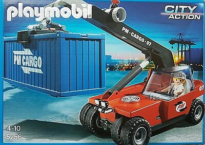 Playmobil 5256 Großer Containerstapler 57-teilig incl. Container