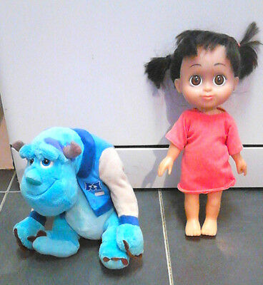 Disney Monster Inc Talking Boo Doll And Plush Sully