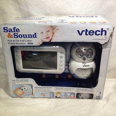 VTech Safe & Sound vm344 Owl Digital Video Baby Monitor with Pan & Tilt Camera