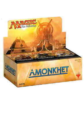 BOX 36 Buste Magic AMONKHET Nuovo Italiano Sigillato Mtg Booster AKH