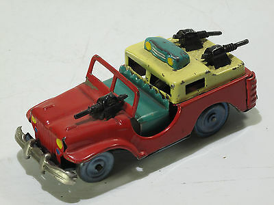 ALPS Japan, AMORED JEEP FRIKTION 13 cm  rot  1953