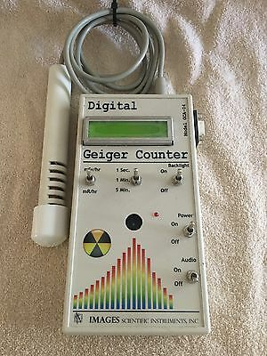 Gca-04 Digital Geiger Counter Nuclear Radiation Detection Monitor