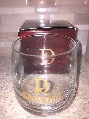 Dewars scotch rocks glass