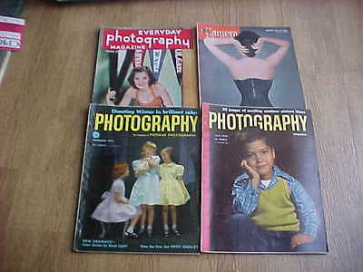 Lot of 4 1950s CAMERA & PHOTOGRAPHY