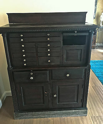 19th CENTURY  TRADITIONAL   CHINESE CHEST :  APOTHECARY