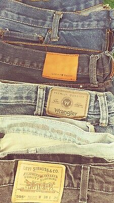 lot of 4 pair jeans of various designers jeans