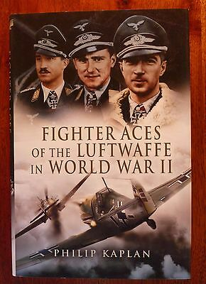 Fighter Aces of the Luftwaffe in World War II – Pristine, Unread with Bookplate