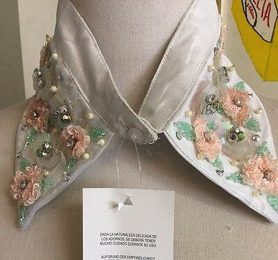 Asos Detachable Collar Jeweled Detail Vintage Style. New