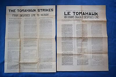 Souvenir Posters of Tomahawk Division, 19th Corps