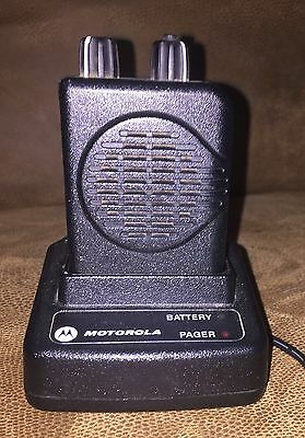 Motorola 2 channel MINITOR V pager Fire EMS currently on 154.9875 & 158.9975