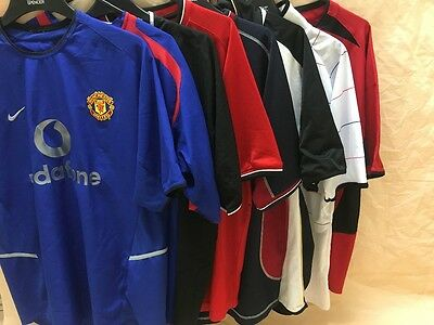 Manchester United Vodafone Football Shirt Job Lot
