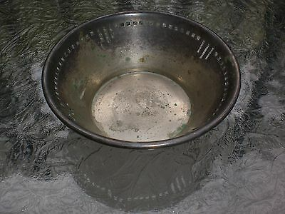 Vintage Art Deco Florida Embassy Club I.S.C. Co. Hotel Silver Plated Ad Bowl