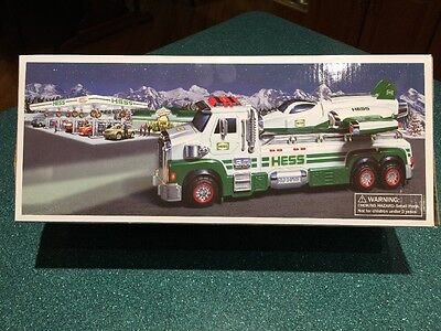 2014 HESS TOY TRUCK and SPACE CRUISER with Scout  NEW IN THE ORIGINAL BOX