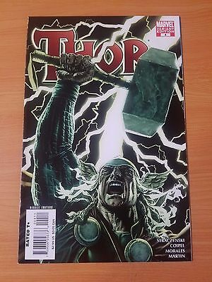 Thor #4 Variant Cover ~ NEAR MINT NM ~ (2007, Marvel Comics)