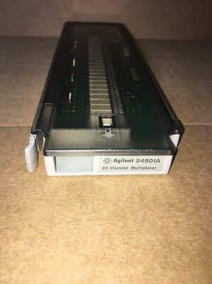 HP/Agilent 34901A 20-Channel Multiplexer Module Board In Good Condition
