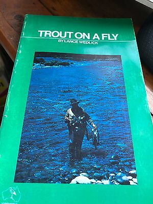 Trout On A Fly Lance Wedlick