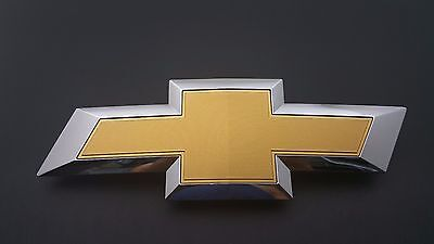 USED 2016 Chevy Colorado Front Grille Bowtie Chrome OEM Emblem Badge Logo 15-17