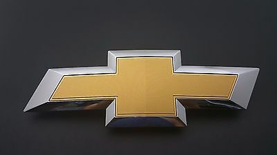 USED 2015 Chevy Colorado Front Grille Bowtie Chrome OEM Emblem Badge Logo 15-17