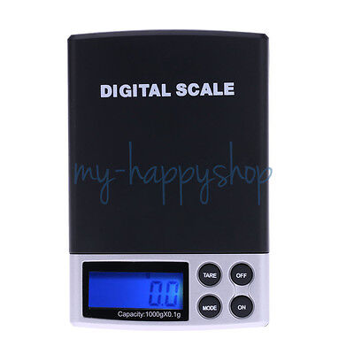 New Digital Lcd Kitchen Food Jewelry Gold Metal Scale 0.1G-1Kg Weighing Scale Au