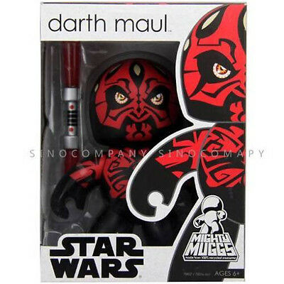 Boys Kids New Toy Star Wars Mighty Muggs Vinyl Darth Maul Shirtless 6in. Figure