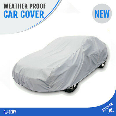 L Weather Proof Car Cover Rain Resistant UV Dust Wind Dirt Scratch Protection