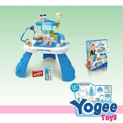 Pretend Play Doctor Table Set