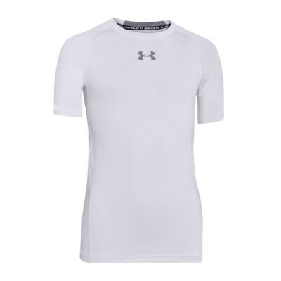 Under Armour Heatgear Fitted Shortsleeve Kids F100