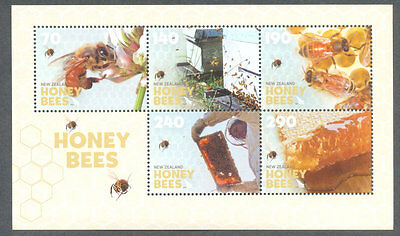 New Zealand-Honey Bees min sheet mnh-Insects(3468)mnh